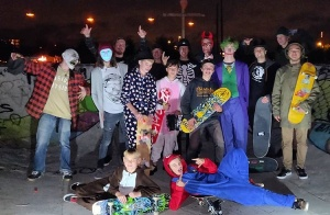 Hell-O-Ween Skate-party I